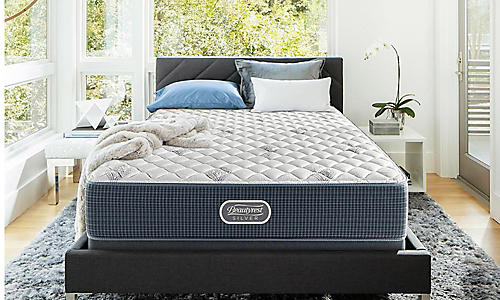 Beautyrest Silver Wavecrest Queen mattress $569.99 Reg $1299.99