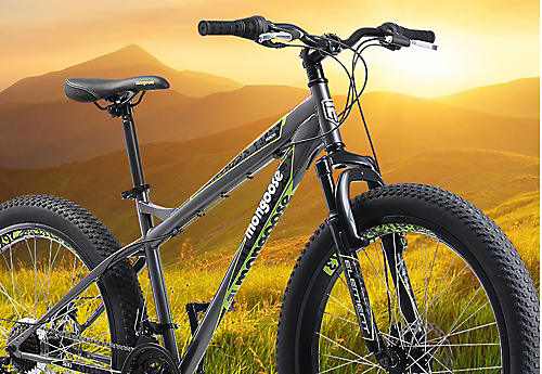 "20% off all bikes | Featuring 26"" Mongoose Spectra mountain bike $99.99 