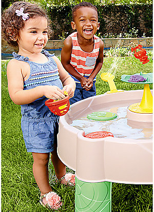 25% off Little Tikes outdoor play | Frog pond water table $29.99 | reg. $39.99