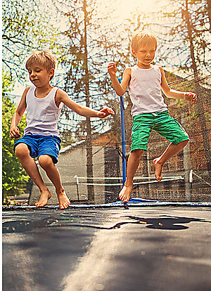 Up to 40% off trampolines  | Plus, save on swing sets & outdoor play