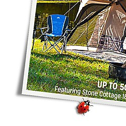UP TO 50% OFF TENTS | Featuring Grand Canyon 20' x12' tent $199.99 | reg. $329.99