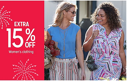 EXTRA 15% OFF Women's clothing