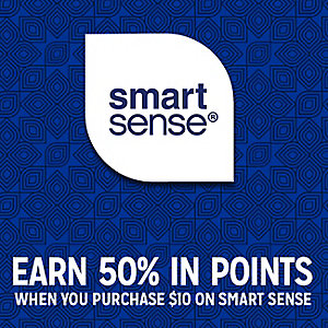 Smart Sense | EARN 50% IN POINTS WHEN YOU PURCHASE $10 ON SMART SENSE