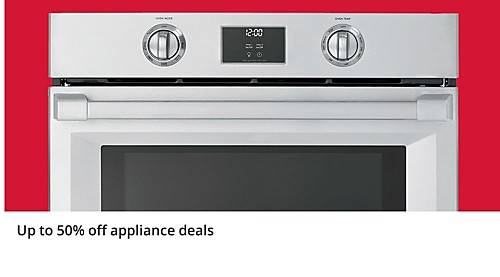 Up to 50% off Appliance Deals