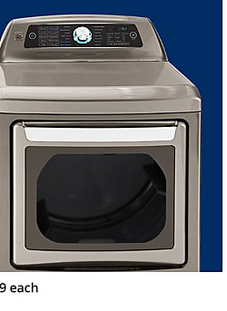 Up to 40% off Washers & Dryers staring at $319.99 each