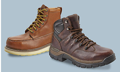 DieHard work boots starting at $64.99 plus all other work boots on sale!