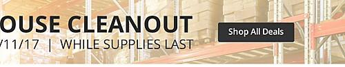 Limpieza de almacén de verano. Solo en línea. La oferta finaliza el 6/11/17. Hasta agotarse la existencia