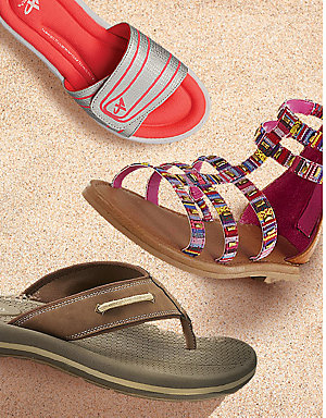Sandals, starting at $12.99 | Get your feet summer ready