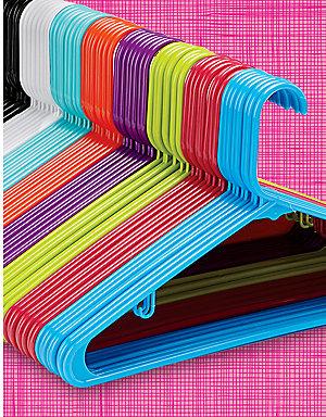 8-pack hangers, 99¢