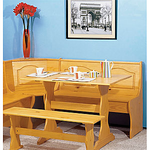 Up to 30% on Linon dining furniture. Featuring the Chelsea nook, $199