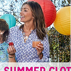 UP TO 40% OFF WOMEN'S SUMMER CLOTHING & SWIMWEAR