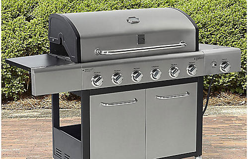 Up to 30% off grills | Plus, save an extra 10% with code: 10KMART