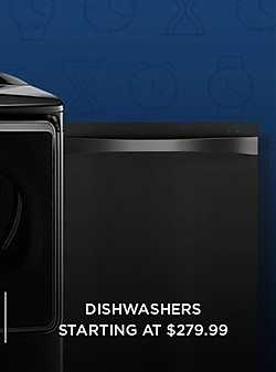 40% off appliances | Dishwashers starting at $279.99