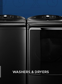 40% off appliances | Washers and Dryers starting at $299.99