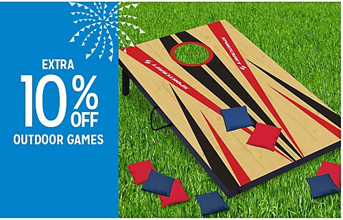 EXTRA 10% OFF OUTDOOR GAMES