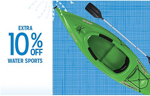 EXTRA 10% OFF WATER SPORTS