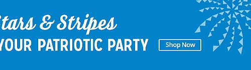 Prep for your patriotic party | Shop Now