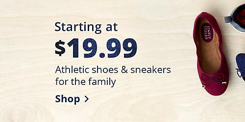 Zapatillas y zapatillas atléticas desde $19.99 para la familia - Comprar