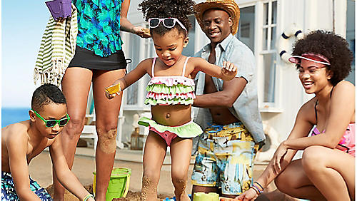Up to 50% off swimwear for the family