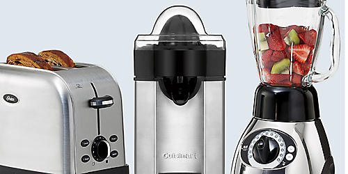 Your Choice $29.99 Oster toaster, Oster blender or Cuisinart Juicer
