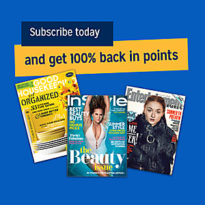 Subscribe today and get 100% back in points