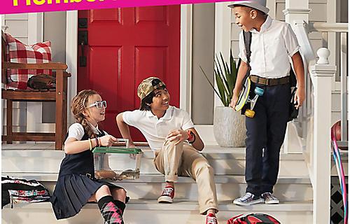 30% off kids' school uniforms