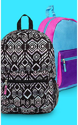 Featured backpacks, $5 | 35% off all backpacks