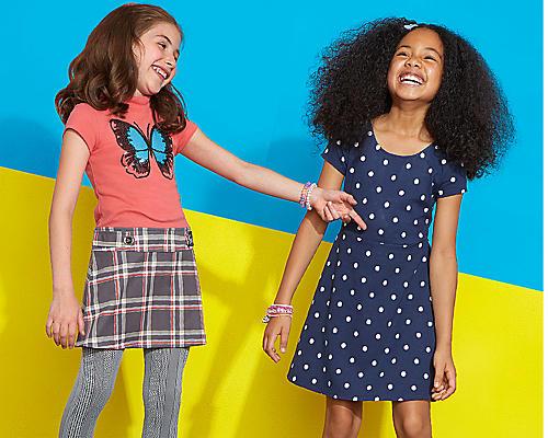 Kids' mix & match separates, $5