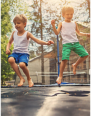 Up to 40% off trampolines
