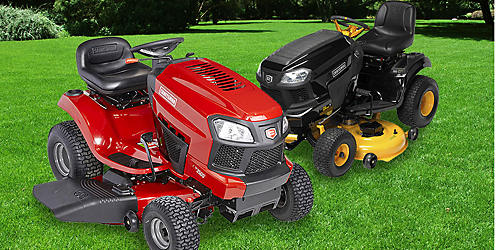 Up to 25% off riding mowers & tractors
