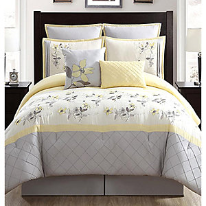 8-piece queen comforter sets, sale $89.99 | reg. $129.99