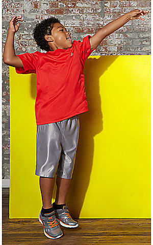 Boys' athletic shorts, $5 | Plus, all activewear on sale