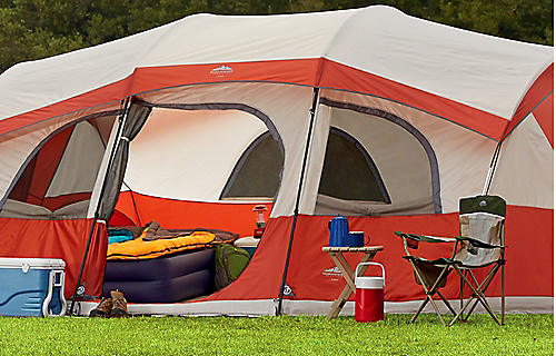 Up to 40% off tents, canopies, chairs & more