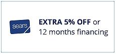 5% de descuento extra o financiamiento especial de 12 meses