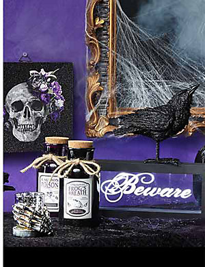 Up to 30% of halloween home décor