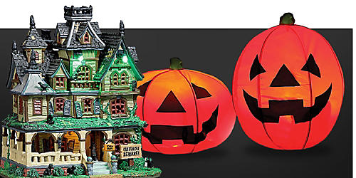 Up to 25% off Halloween décor