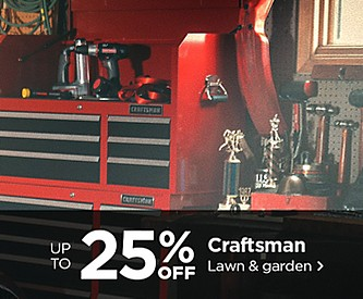 Up to 25% Off Craftsman Lawn & Garden