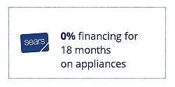 0% on 18 months special financing