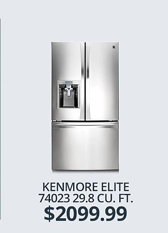 Kenmore 29.8 cu ft Refrigerator&#x3b; $2099.99