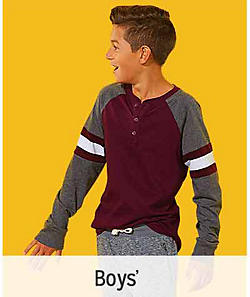 Get $10 CASHBACK in points on clothing purchases of $40   Boys'
