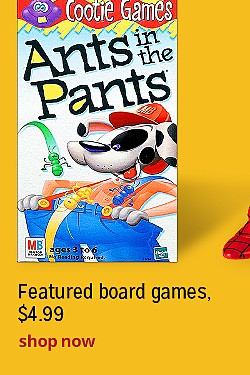 Featured board games, $4.99 | Shop Now