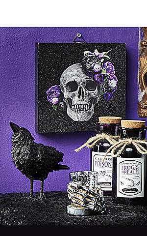 Up to 30% off Halloween & harvest home décor | Get $5 CASHBACK in points on Halloween purchases of $25