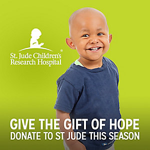 St. Jude Childrens Research Hospital | GIVE THE GIFT OF HOPE | DONATE TO ST JUDE THIS SEASON