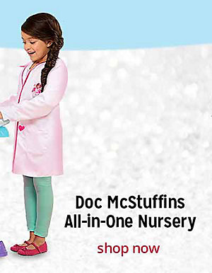 Doc McStuffins All-in-One Nursery | shop now