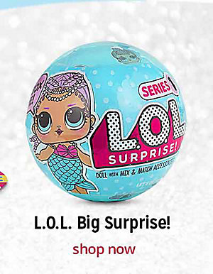 LOL Big Surprise! | shop now