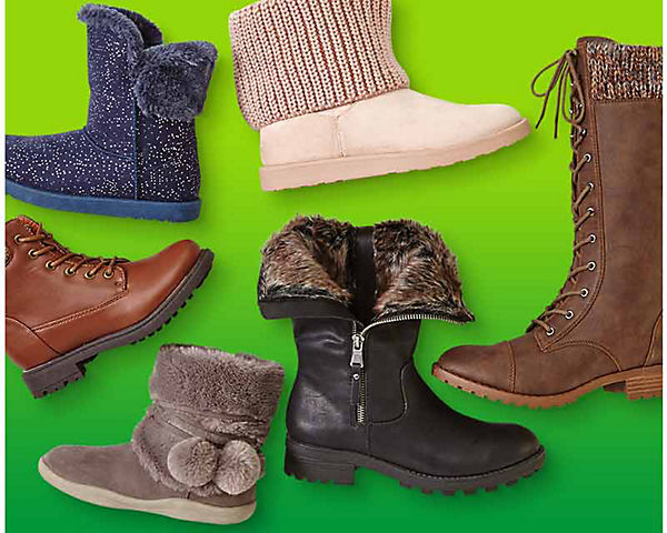 40% off fashion boots for women & kids