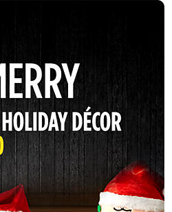 Save an extra 10% Holiday Décor �with code: MERRY10 | Season's Greeters