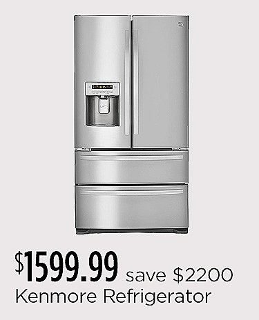 Kenmore French Door Refrigerator $1599.99