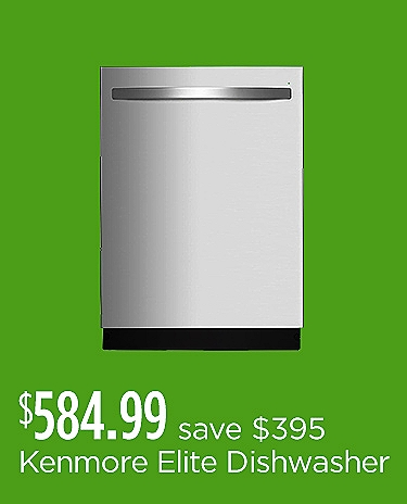 Kenmore Elite Stainless Dishwasher