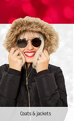 50% OFF CLOTHING & SLIPPERS | Shop coats & jackets